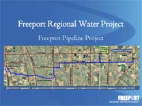 Freeport Project Pipeline Construction PowerPoint